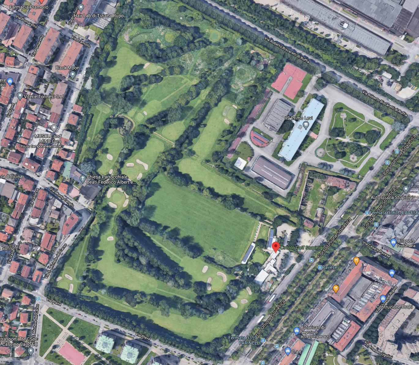 Golf-Club-Stupinigi-Maps